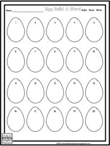 onset rime easter eggs